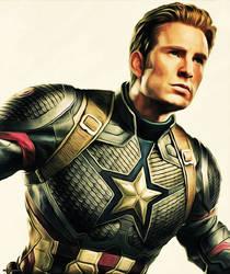 Captain America by thephoenixprod