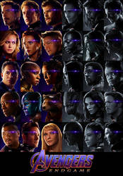 Avengers Endgame (Poster) (UHD) by thephoenixprod