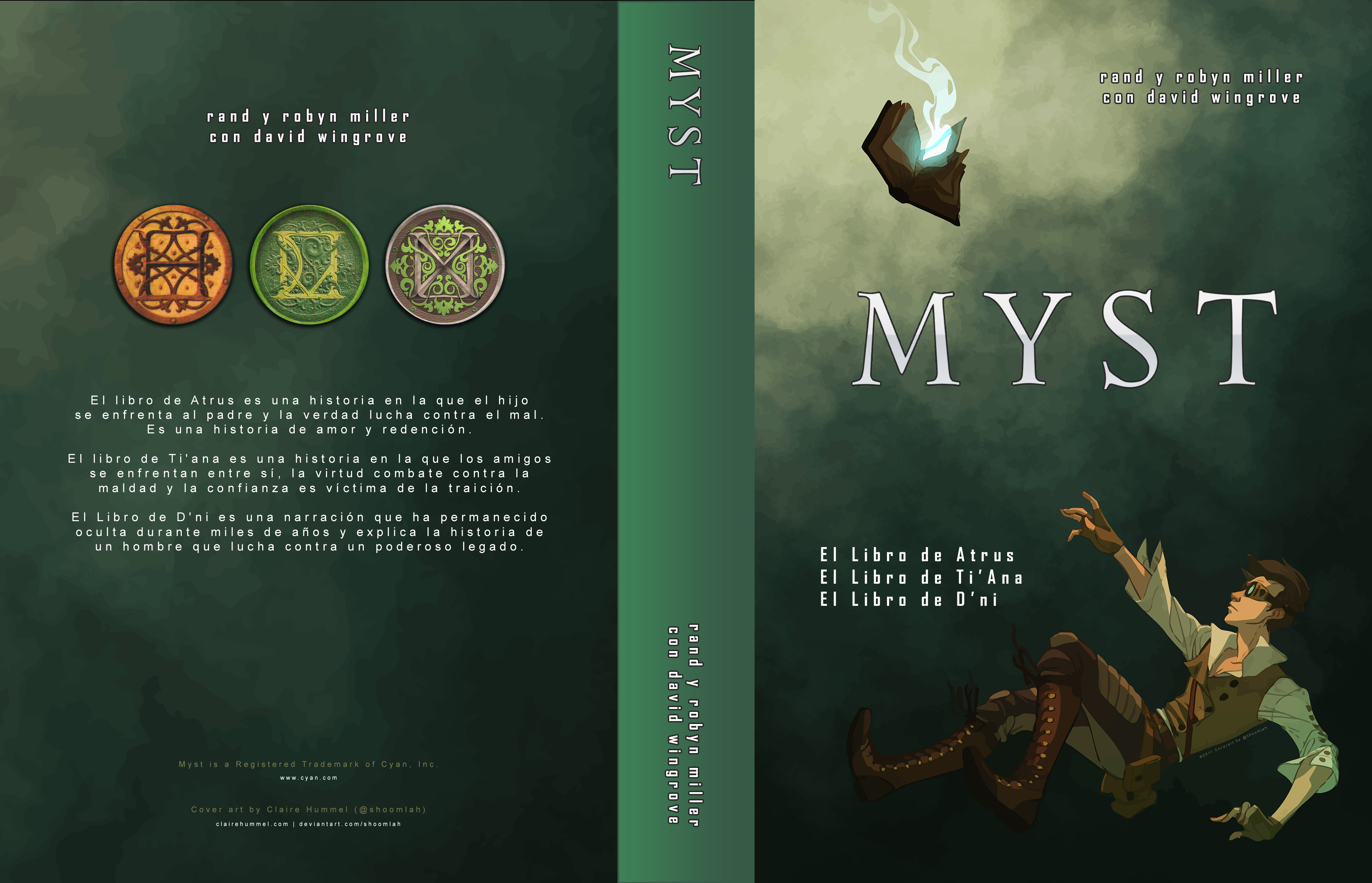 Myst Reader (Edicion Completa) (Spanish) (ES)