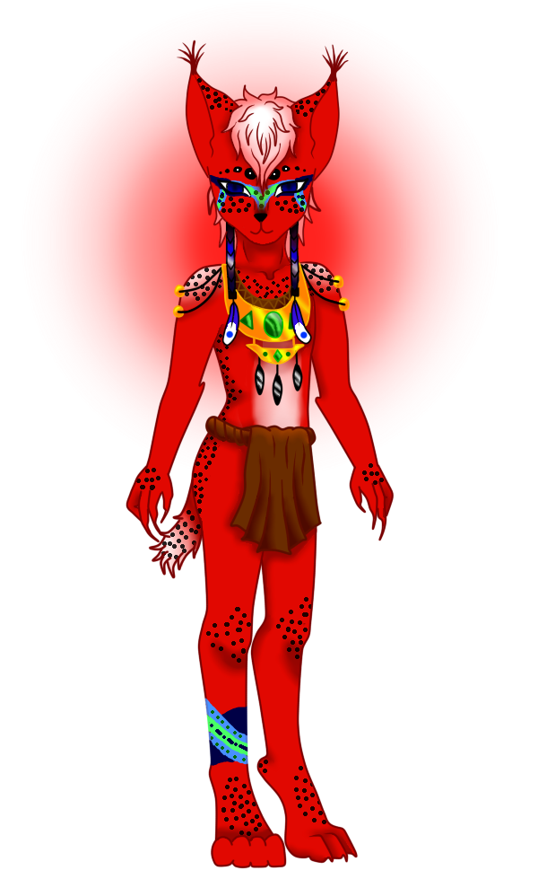 Adoptable-Strawberry-Lynx [OPEN] by nekosera