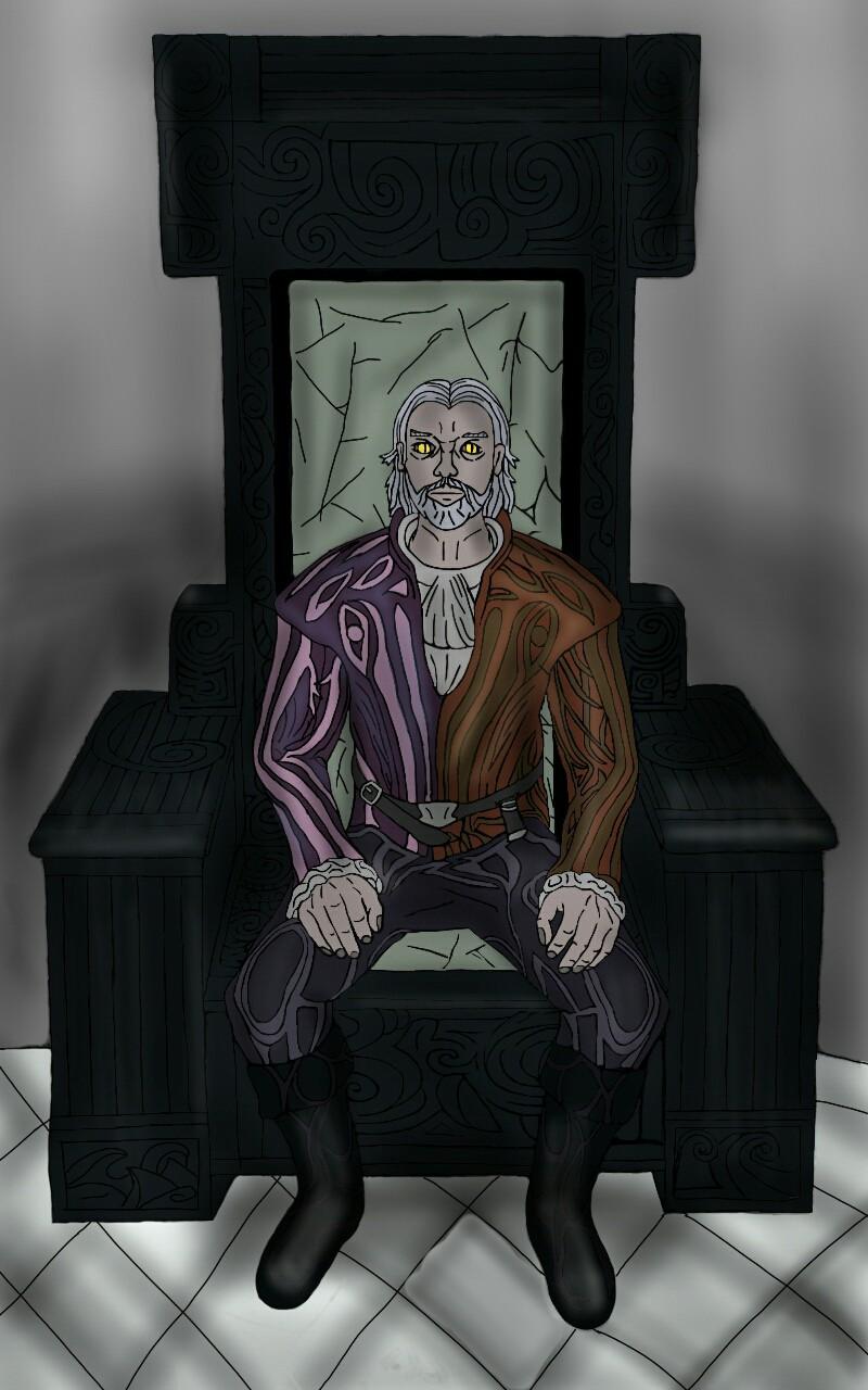 Sheogorath daedric prince of madness by Elssir