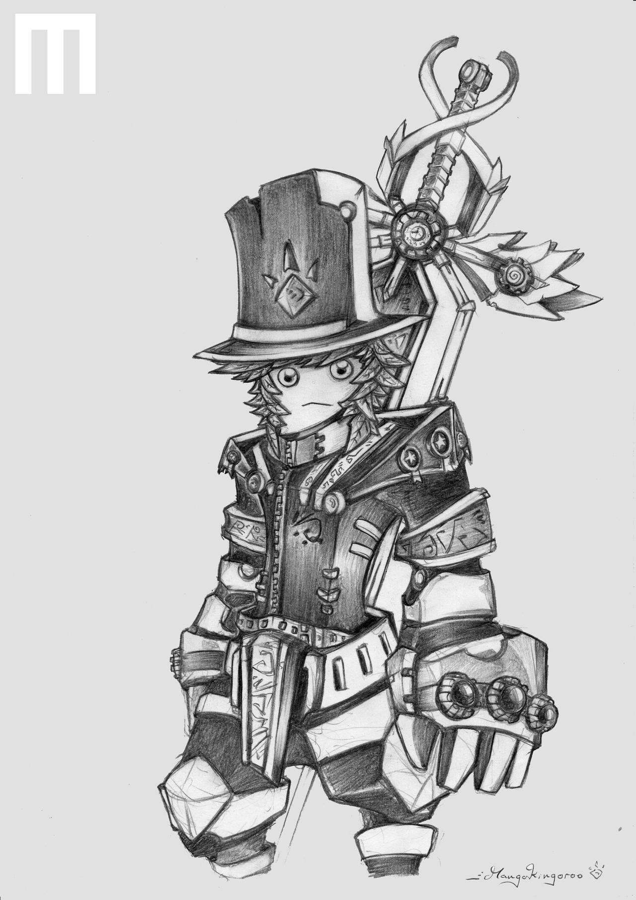 Mangokingoroo, The Imperial General by MangoKingoroo