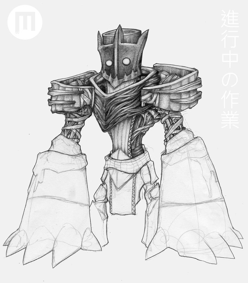 WIP - Voodoo Brutaliser by MangoKingoroo