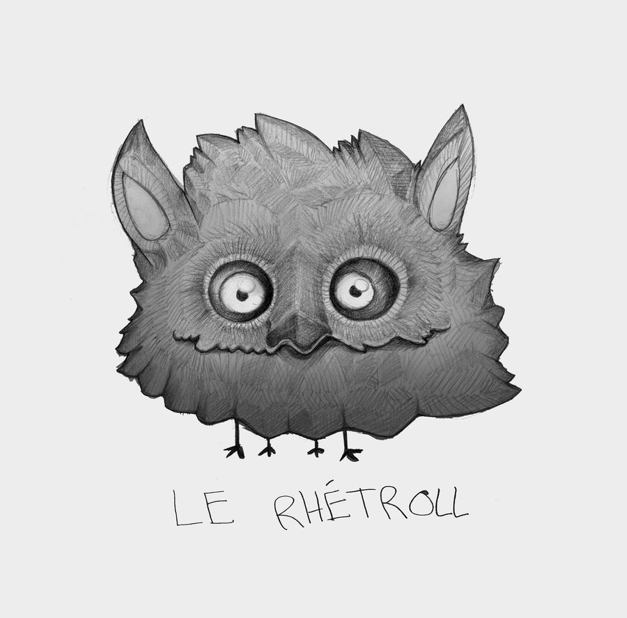 Le Rhetroll by MangoKingoroo