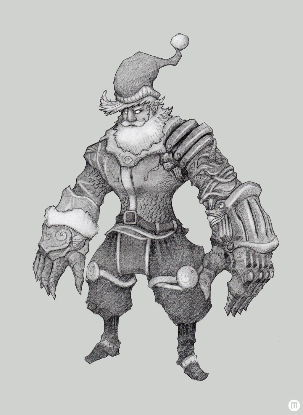 Santa Claus Iii By Mangokingoroo On Deviantart
