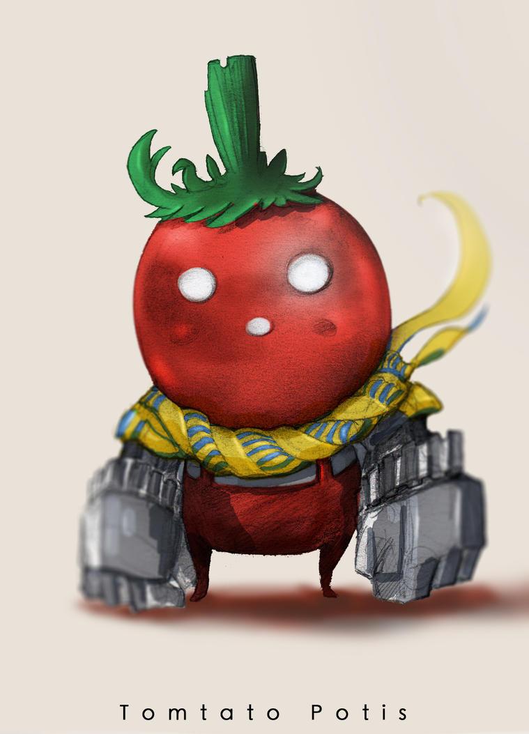 Tomato Potis by MangoKingoroo