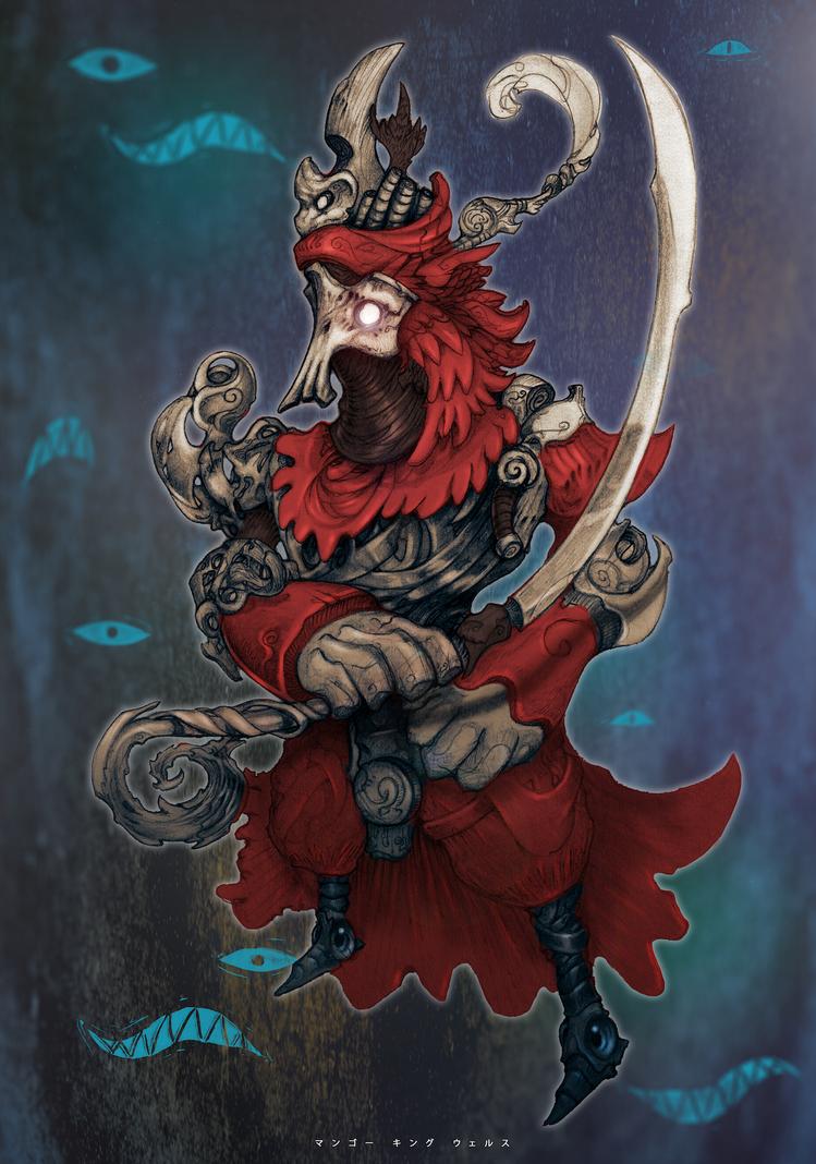 Voodoo Samurai by MangoKingoroo