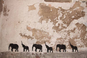 Elephants On Parade by toosexyforcontacts