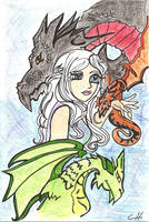 Mother of Dragons by toosexyforcontacts