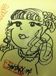 Damned Sketchy Portrait II