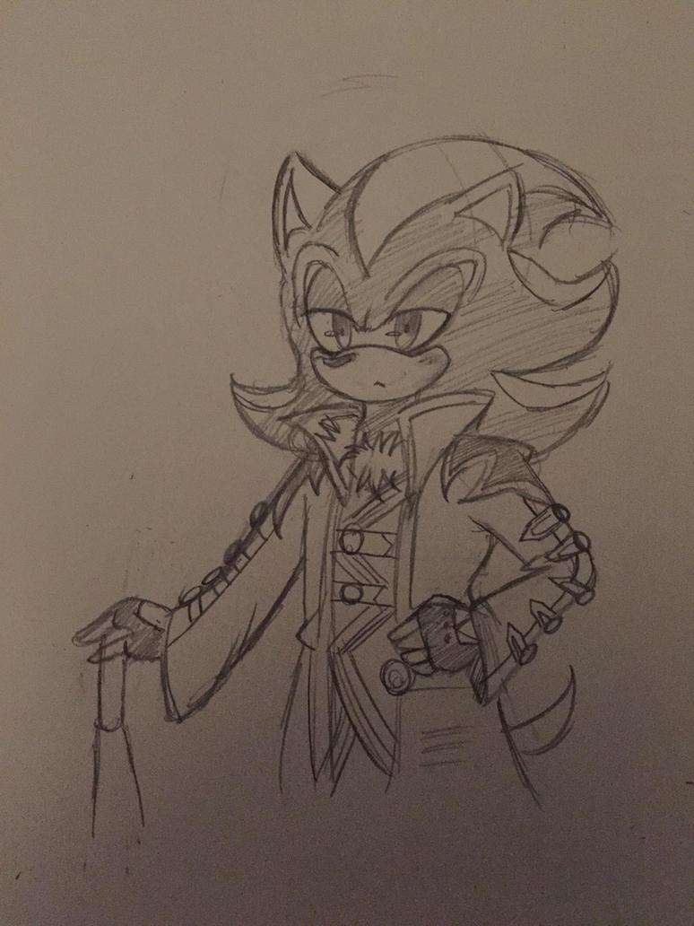 Shade the hedgehog~ by xXShadowXx158