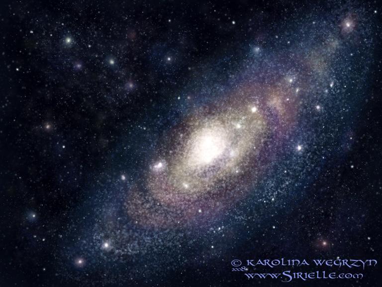 Speedy: a galaxy by Sirielle