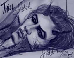 Thill Silvine sketch by Sirielle