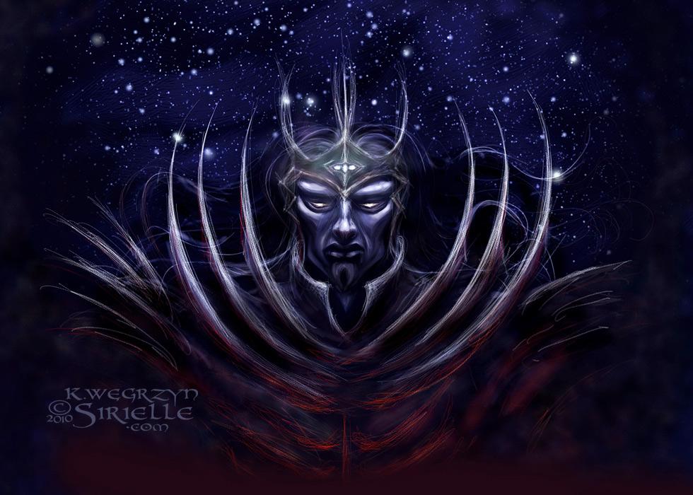 Morgoth with Silmarili concept by Sirielle