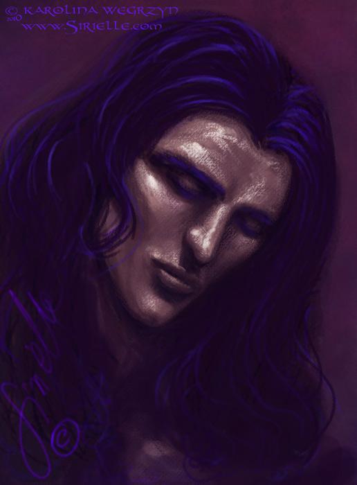 Finwe face study by Sirielle
