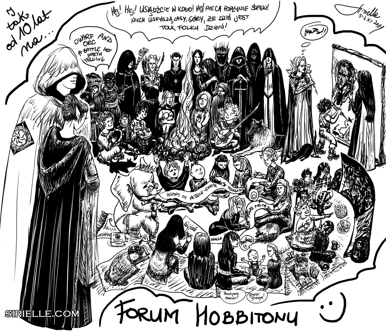 Hobbiton Forum 10th Anniversary by Sirielle