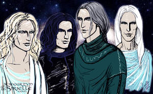 Alternative future-past kings of the Eldar