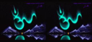 Happy Yule 2013 (stereoscopy)