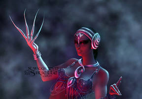 Tribal Fusion Belly dancer by Sirielle