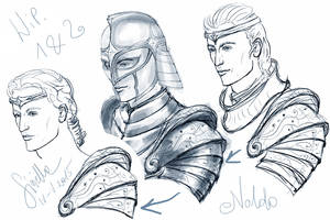 Gil-galad concepts by Sirielle