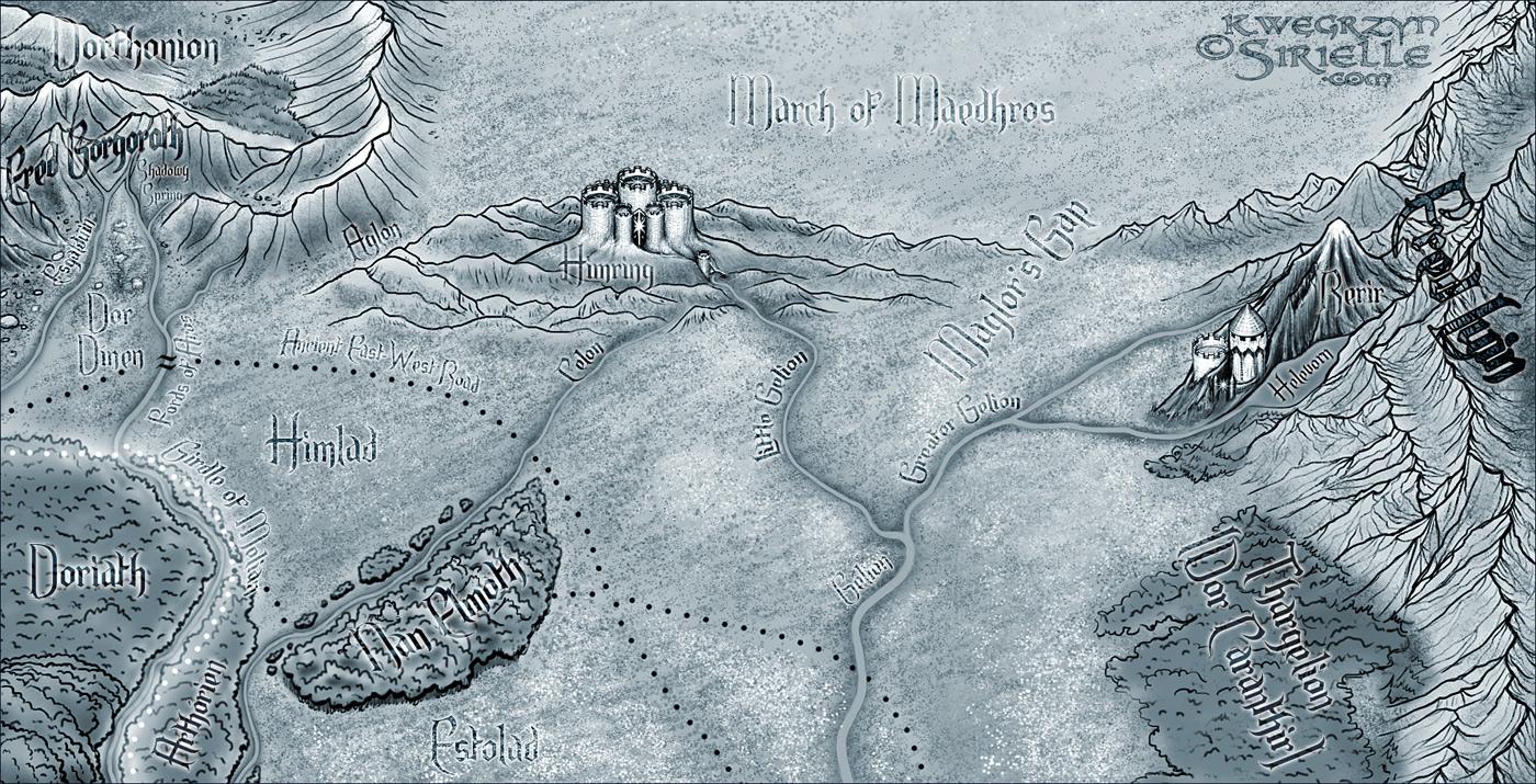 North-East Beleriand mono