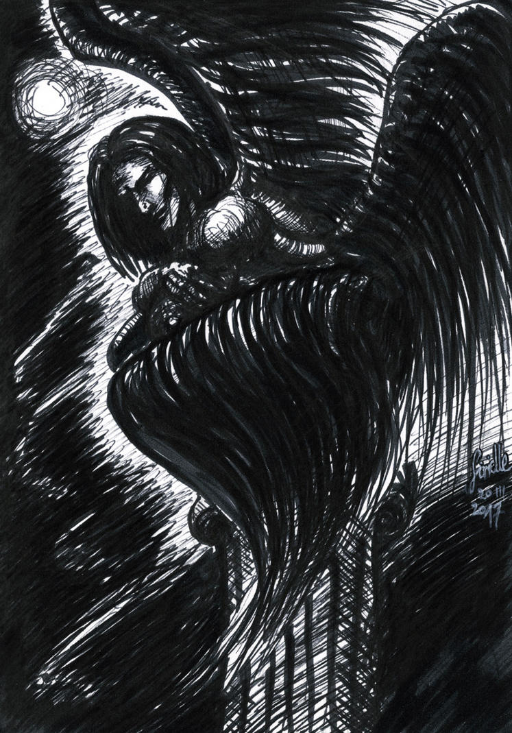 Angel in darkness by Sirielle