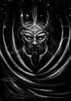 Morgoth with Silmarili concept variation2