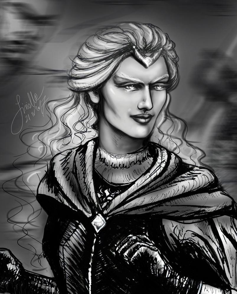 A Noldorin woman by Sirielle