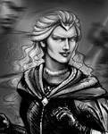 A Noldorin woman