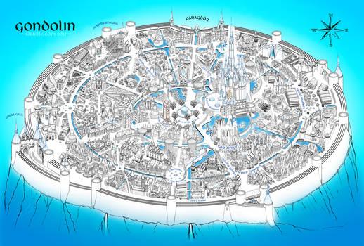 Gondolin in blue (more images in description)