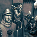 Entering the Crusader's Fortress (closeup)