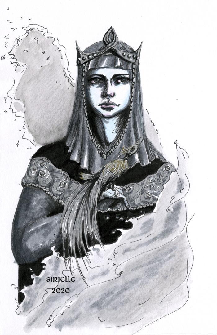 Tar-Miriel portrait test