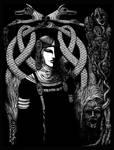 Hel in Black by Sirielle