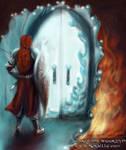 A Silmaril is behind that door