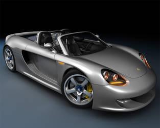 Porsche Carerra GT Hybrid by Bloodbane