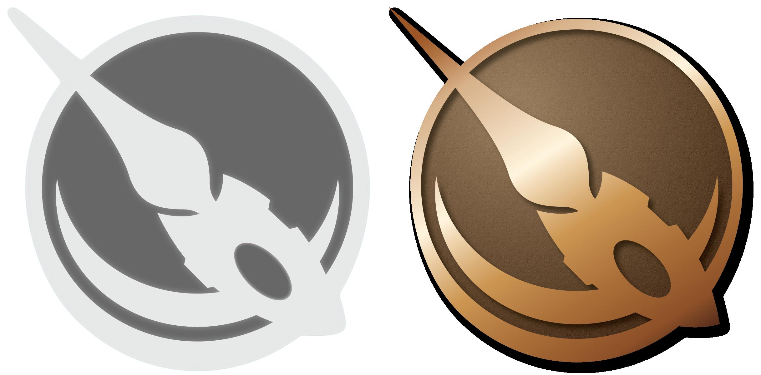 Bronze Blades Badge by Landmine752