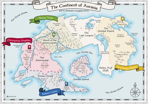 Aurania War Map
