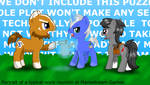 We make games. Games with ponies.