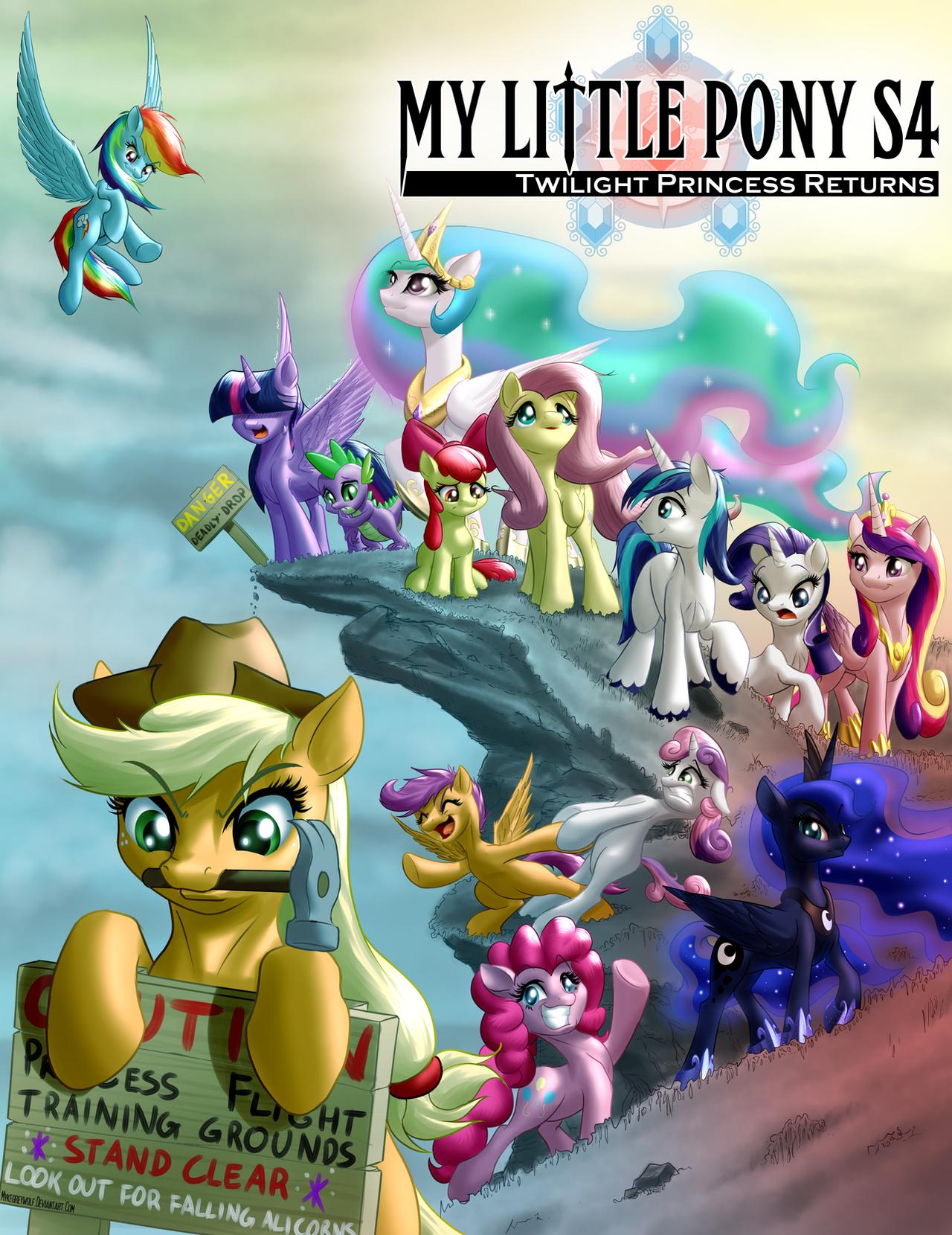 My Little Pony Season 4: Twilight Princess Returns by MykeGreywolf