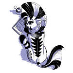 Zebra pose challenge #22: Zecora
