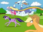 (Failed) 30 minute challenge: Adventure Ponies