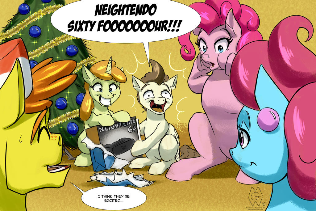 Trade: NEIGHTENDO SIXTY-FOUR!!!