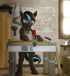 Commission: Thunder Blitz's Workshop