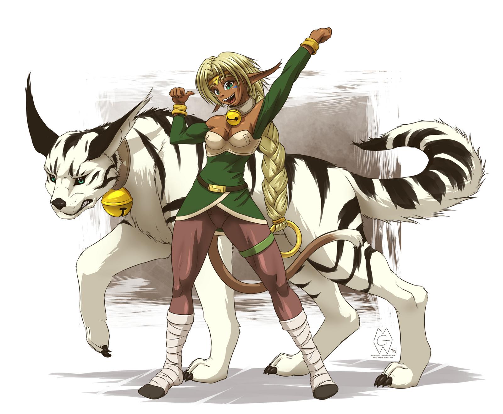 Aisha Clan-Clan by MykeGreywolf on DeviantArt