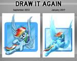 Rainbow Dash: Side-by-Side Comparison
