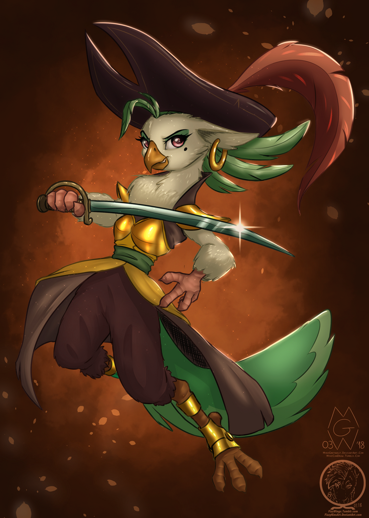Collaboration: Captain Celaeno by MykeGreywolf