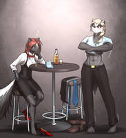 <b>Musteladies: Slow Evening At The Knockout Bar</b><br><i>MykeGreywolf</i>