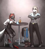 <b>Musteladies: Slow Evening At The Knockout Bar</b><br><i>MykeGreywolf</i>