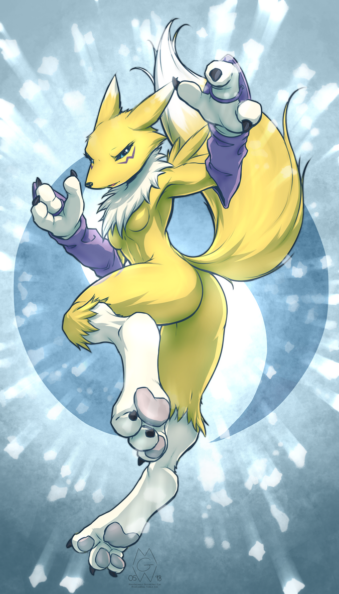 Renamon by MykeGreywolf