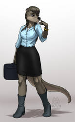 Nat's Workplace Outfit